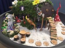 Fairy gardens at the fairy festival