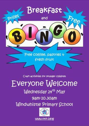 Bingo Windwhistle Primary 24.05.17