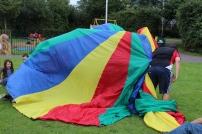 parachute games/be happy week