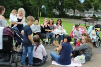 parents in the park/be happy week