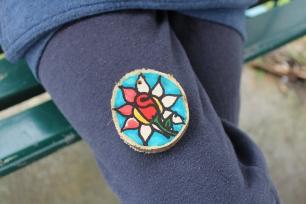 forest school badges/be happy week