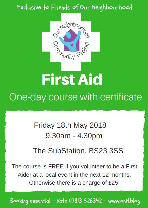 First Aid 18.05.18