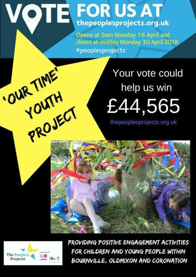 'Our Time' Youth Project 17th April