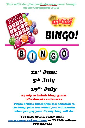 Bingo Shakespeare Court 2018