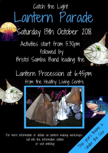 Catch the Lightlantern Parade 2018 poster