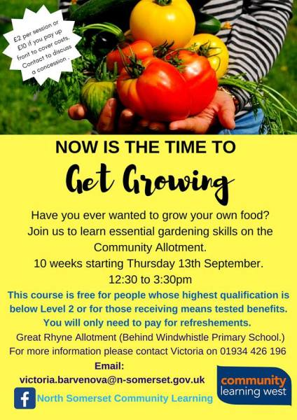 get growing course